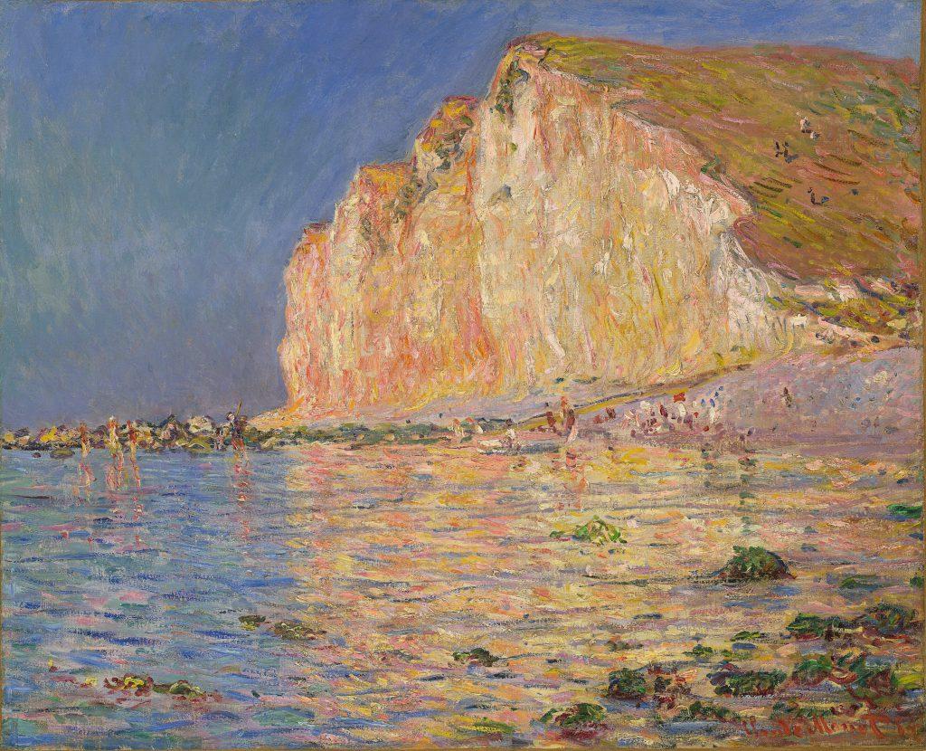 """Claude Monet, """"Les Petites-dalles bei Ebbe"""", 1884"""