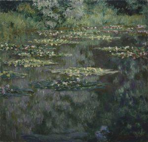 """Claude Monet, """"Seerosen oder Der Seerosenteich"""", 1904"""