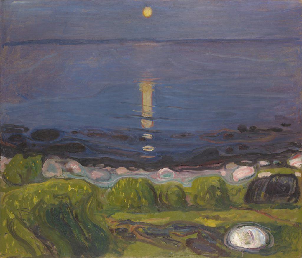 "Edvard Munch ""Sommernacht am Strand"", 1902/03"