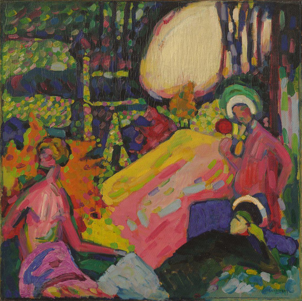 """Wassily Kandinsky """"Weisser Klang"""", 1908"""